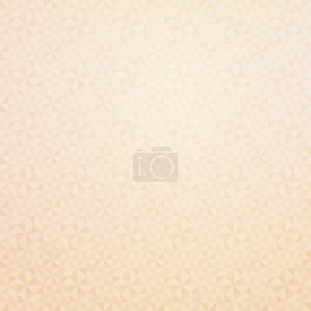Illustration for Beige geometric texture. Vector background for your design - Royalty Free Image