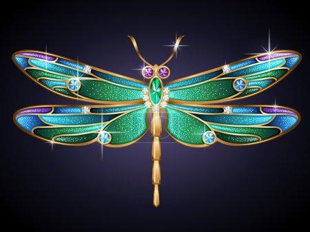 Jewel dragonfly