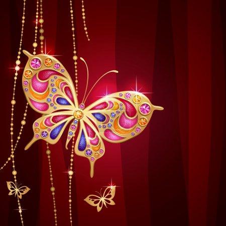 Jewelry butterfly