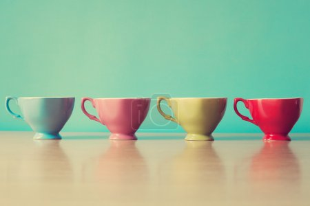 Color coffee cups