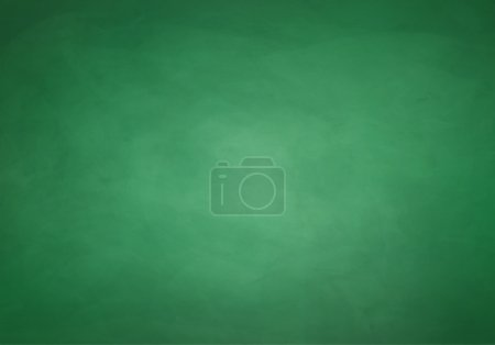 Illustration for Green chalkboard background. Vector texture - Royalty Free Image