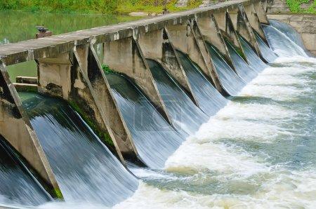 Photo pour Portes d'eau pour l'irrigation - image libre de droit
