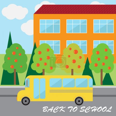 Back to school vector background...
