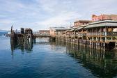 Pier at Port Townsend Washington